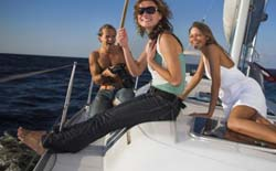 Private sailing trips in Mykonos, Greece
